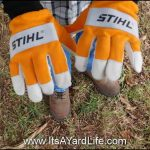Stihl Gloves Back