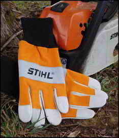Stihl Gloves Close Up